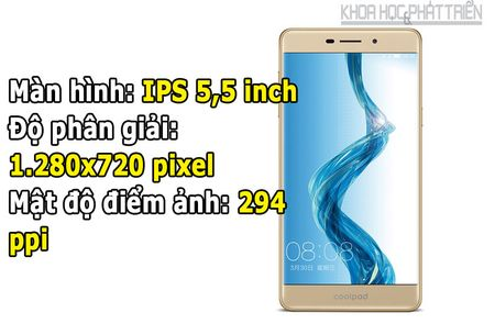 Mo hop smartphone chuyen selfie, gia re cua Coolpad - Anh 4