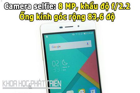 Mo hop smartphone chuyen selfie, gia re cua Coolpad - Anh 6