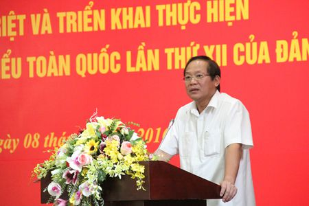 Bo TT&TT quan triet, trien khai nghi quyet Dai hoi 12 - Anh 1