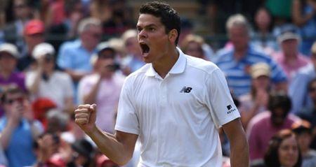 NONG: Federer guc nga truoc Raonic o Ban ket Wimbledon 2016 - Anh 1