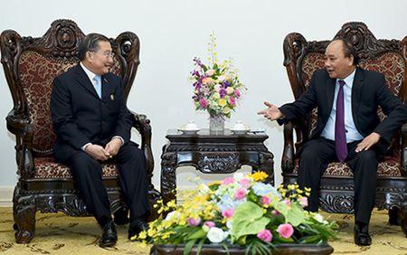 Thu tuong Nguyen Xuan Phuc tiep Chu tich tap doan TCC - Anh 1