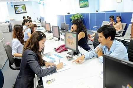 Nganh ngan hang huong toi top 30 tren the gioi ve tiep can tin dung - Anh 1