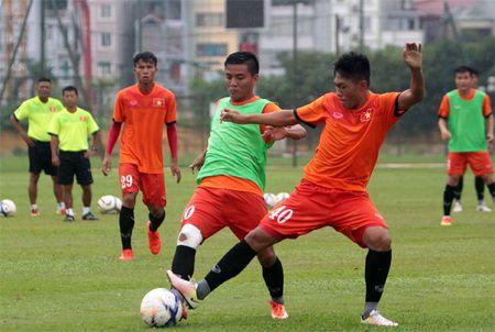 U19 Viet Nam mat hau ve Tran Van Hoa tai VCK U19 DNA 2016? - Anh 1