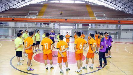 DT Futsal Viet Nam: Tu tin cho tran dau tien - Anh 1
