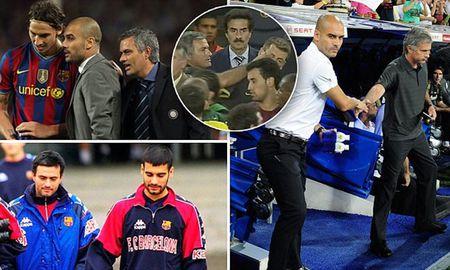 Pep Guardiola vs Jose Mourinho: Mang suc nong El Classico sang Derby Manchester - Anh 1