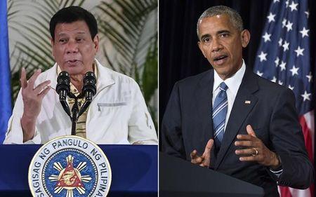 Tong thong Obama van gap go ong Duterte sau nhung phat bieu khiem nha - Anh 1