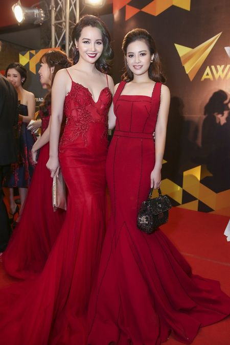 Duong Hoang Yen long lay voi sac do tai VTV Awards - Anh 6