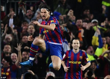 Jose Mourinho vs Pep Guardiola: Dinh menh Zlatan Ibrahimovic - Anh 5