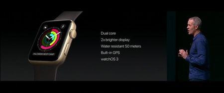 Apple Watch Series 2 chong nuoc tot hon va ho tro GPS - Anh 2