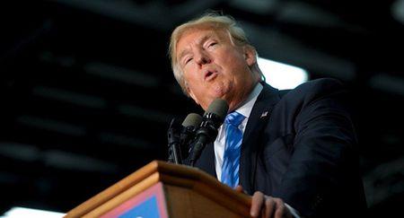 Ong Trump cam ket tang cuong nang luc quan su My - Anh 1