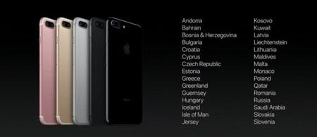 Apple cong bo gia va chi tiet ngay mo ban iPhone 7 tai cac nuoc - Anh 3
