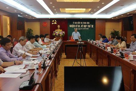 UBKT Trung uong de nghi khai tru ong Trinh Xuan Thanh khoi Dang - Anh 1
