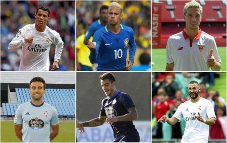 Vong 3 Liga: Ronaldo, Neymar tai xuat & dan tan binh - Anh 1