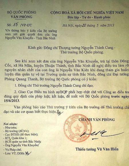Vu can bo xa chet bat thuong o Bac Ninh: Gia dinh de nghi khai quat tu thi! - Anh 2