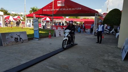 'Be U+ with Honda' bung no voi hon 800.000 luot khach hang - Anh 1