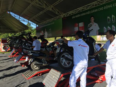 'Be U+ with Honda' bung no voi hon 800.000 luot khach hang - Anh 3