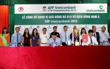 U19 Viet Nam ngam ngoi vo dich giai Dong Nam A - Anh 1