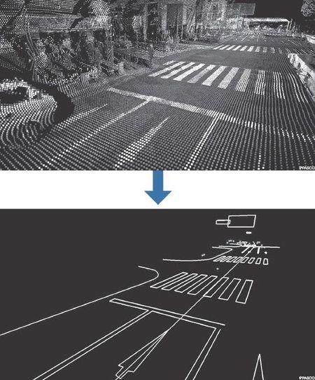 Nhat Ban lap ban do 3D duong bo cho xe hoi khong nguoi lai - Anh 1