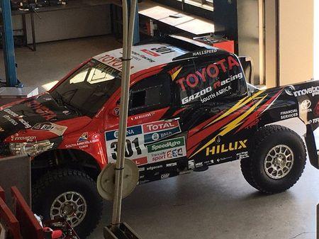 Toyota mang ban tai Hilux moi du giai dua Dakar 2017 - Anh 5