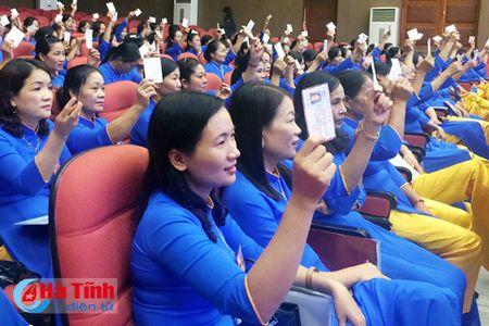 To chuc thanh cong Dai hoi Hoi LHPN thi xa Hong Linh - Anh 2