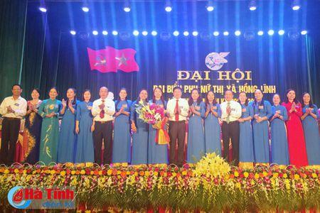To chuc thanh cong Dai hoi Hoi LHPN thi xa Hong Linh - Anh 3
