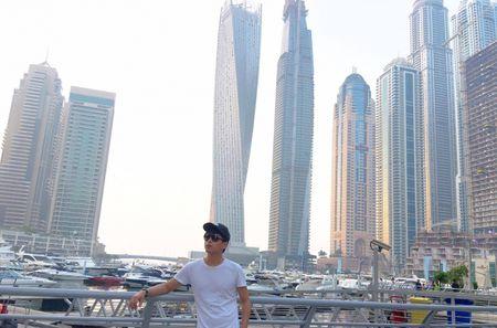 Ca si Ho Quang Hieu mo thanh ty phu dau mo o Dubai - Anh 2
