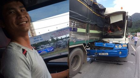 Video: Tai xe dung cam cuu xe khach mat phanh nhu the nao? - Anh 1