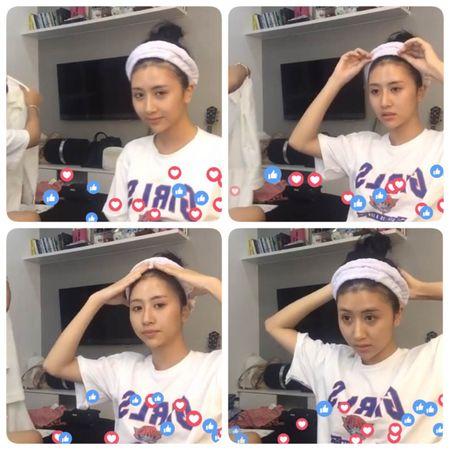 Loat bieu cam sieu dang yeu cua Quynh Anh Shyn trong clip make up challenge moi nhat! - Anh 6