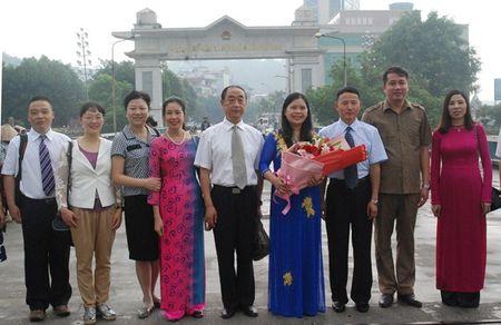 Doan cong tac Tong Cong hoi Van Nam (TQ): Trao doi kinh nghiem hoat dong CD tai VN - Anh 1