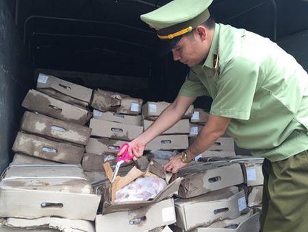 Quang Ninh: Tom gon chiec xe va chu hang mang 2,4 tan chan ga thoi di tieu thu - Anh 4