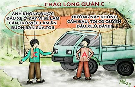 A Ra The ky 7: Canh tranh buon ban, dung xe chan quan - Anh 2