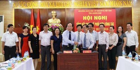Ky quy che phoi hop giua HDND va Uy ban MTTQ Viet Nam tinh Quang Nam - Anh 1