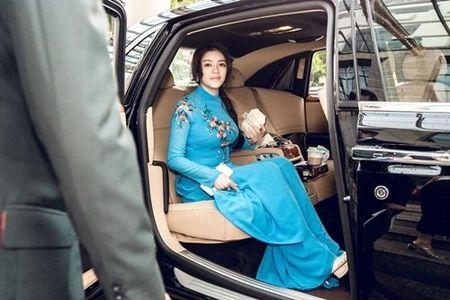 Ly Nha Ky mac ao dai dien kien Tong thong Phap - Anh 6
