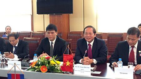 De nghi Campuchia ho tro doanh nghiep CNTT-VT Viet Nam - Anh 1