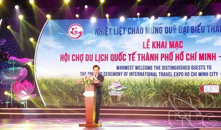 Khai mac Hoi cho du lich quoc te TP. Ho Chi Minh – ITE HCMC 2016 - Anh 1