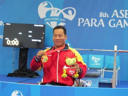 Paralympic 2016: Le Van Cong linh an tien phong - Anh 1