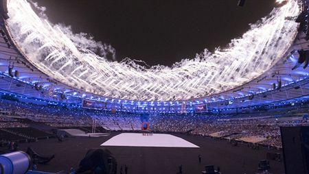 CHUM ANH: Ruc ro va xuc dong le khai mac Paralympic - Anh 12