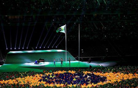 CHUM ANH: Ruc ro va xuc dong le khai mac Paralympic - Anh 1