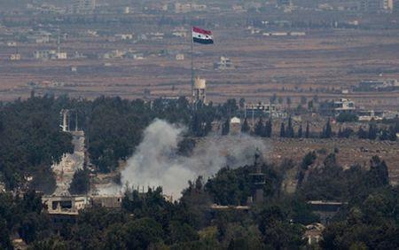 Israel tiep tuc khong kich cac vi tri cua quan doi Syria - Anh 1