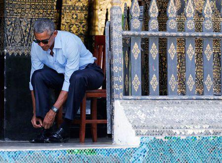 Hinh anh cham toi trai tim trong chuyen cong du cuoi cua ong Obama - Anh 3