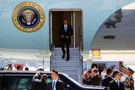 Hinh anh cham toi trai tim trong chuyen cong du cuoi cua ong Obama - Anh 9