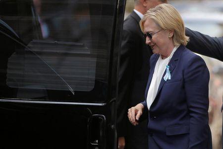 Nhung dieu can biet ve benh viem phoi va suc khoe cua ba Hillary - Anh 1