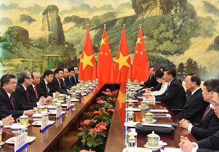 Chu tich Tap Can Binh: Trung Quoc thuc day hop tac cung co loi voi Viet Nam - Anh 2