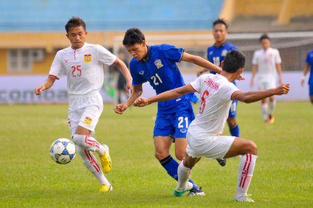 U19 Thai Lan nhoc nhan danh bai U19 Lao tai giai U19 DNA 2016 - Anh 1