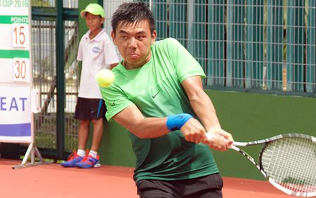 Ly Hoang Nam vao vong 2 noi dung doi nam giai Vietnam 4 Futures - Anh 1