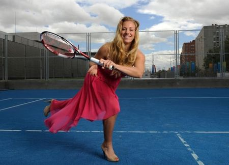Ve dep khong ti vet cua tan vuong US Open, Angelique Kerber - Anh 7