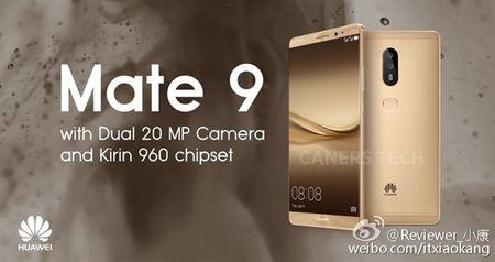 Cau hinh Huawei Mate 9 he lo qua anh quang cao - Anh 1