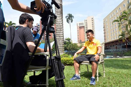 FIFA phong van dac biet nguoi hung futsal Viet Nam - Anh 3