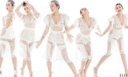 Bat ngo voi hinh anh trong sang cua Miley Cyrus - Anh 1