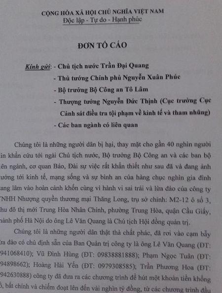 Cong ty Nhuong quyen thuong mai Thang Long bi to lua dao nhieu ti dong - Anh 2